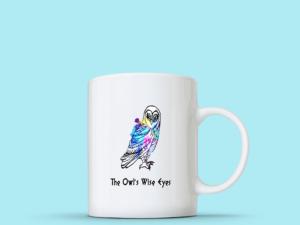 The Owl's Wise Eyes Mug