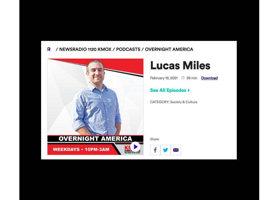 """FEATURED ON KMOX 