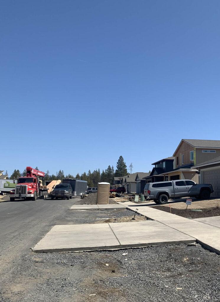 La Pine home development
