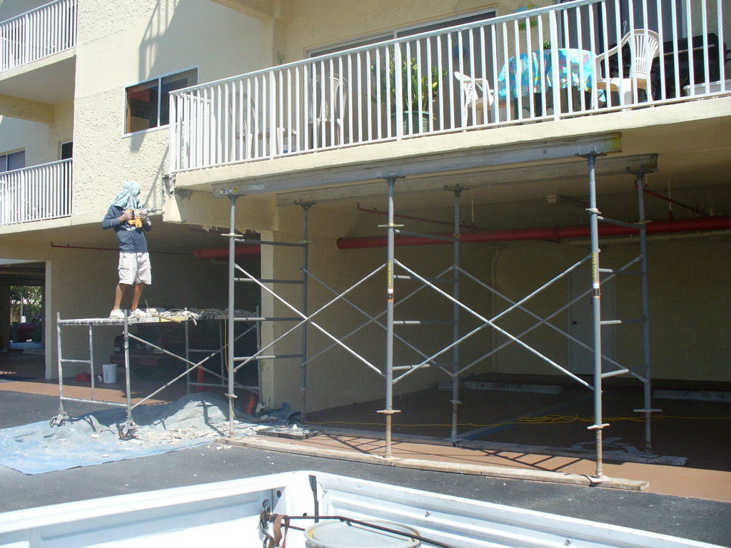 Condominium Balcony Repair in Saint Petersburg, FL