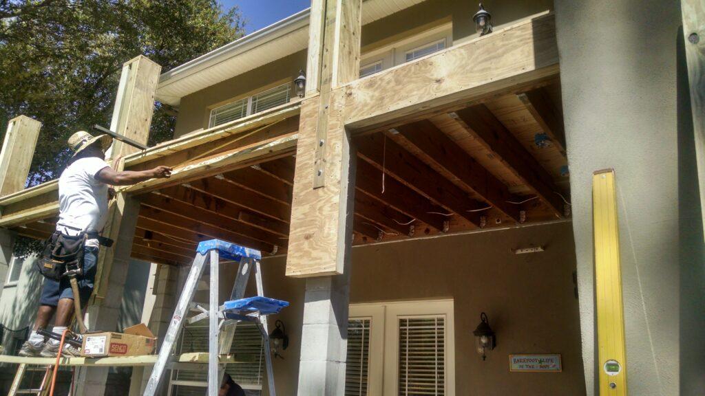 Picture of Balcony Rebuild