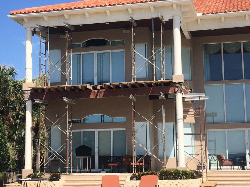 Bellaire Beach Wood Balcony Repair