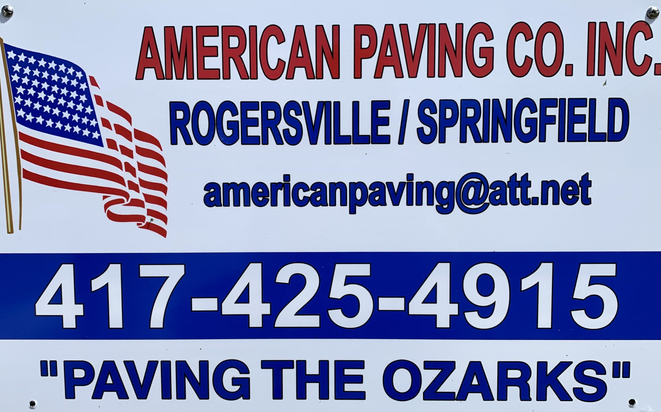 American Paving Co., Inc.