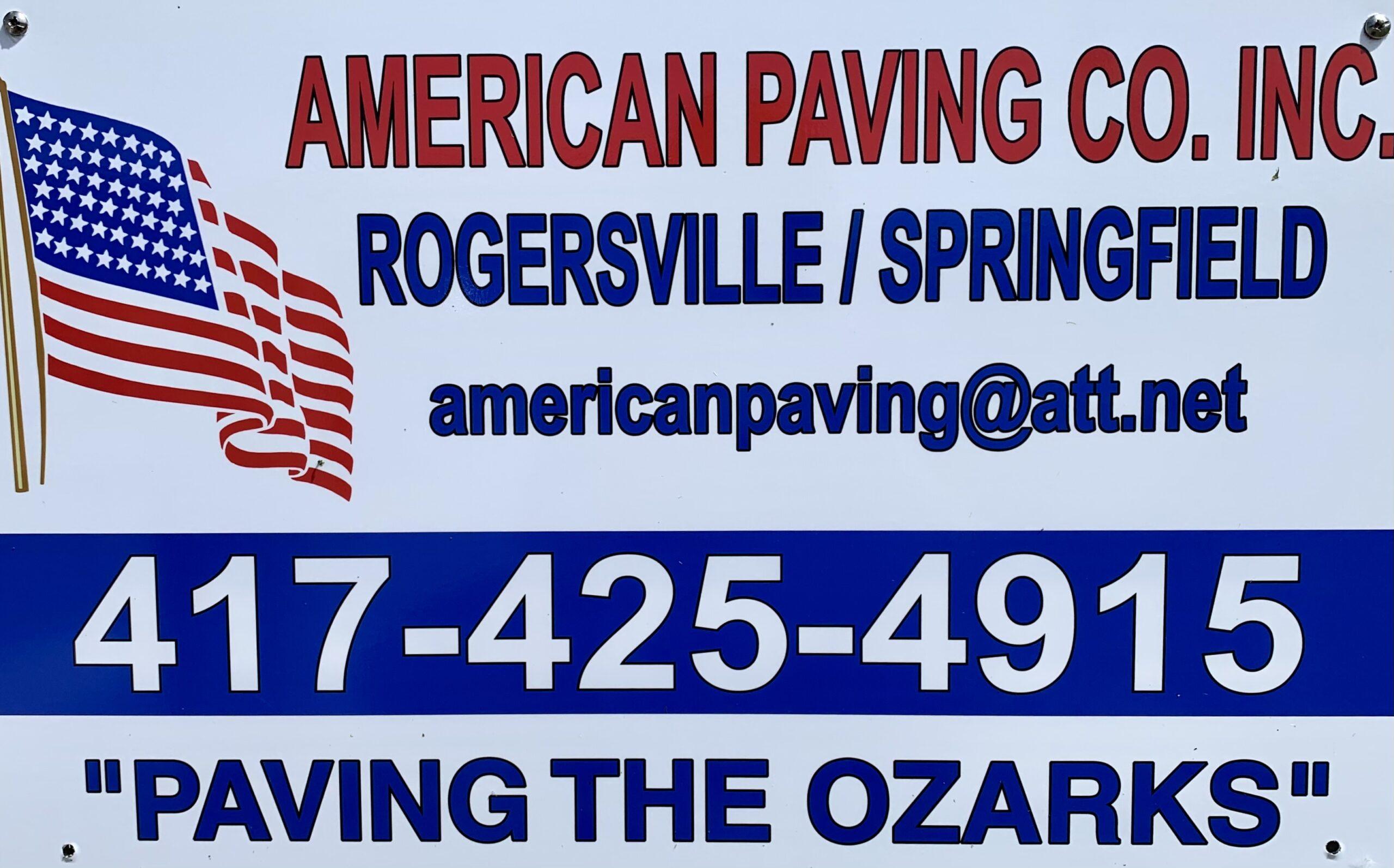 American Paving Co., Inc.