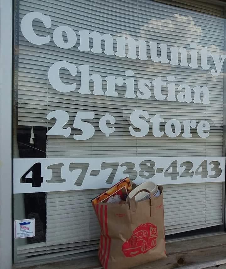 Community Christian $.25 Store