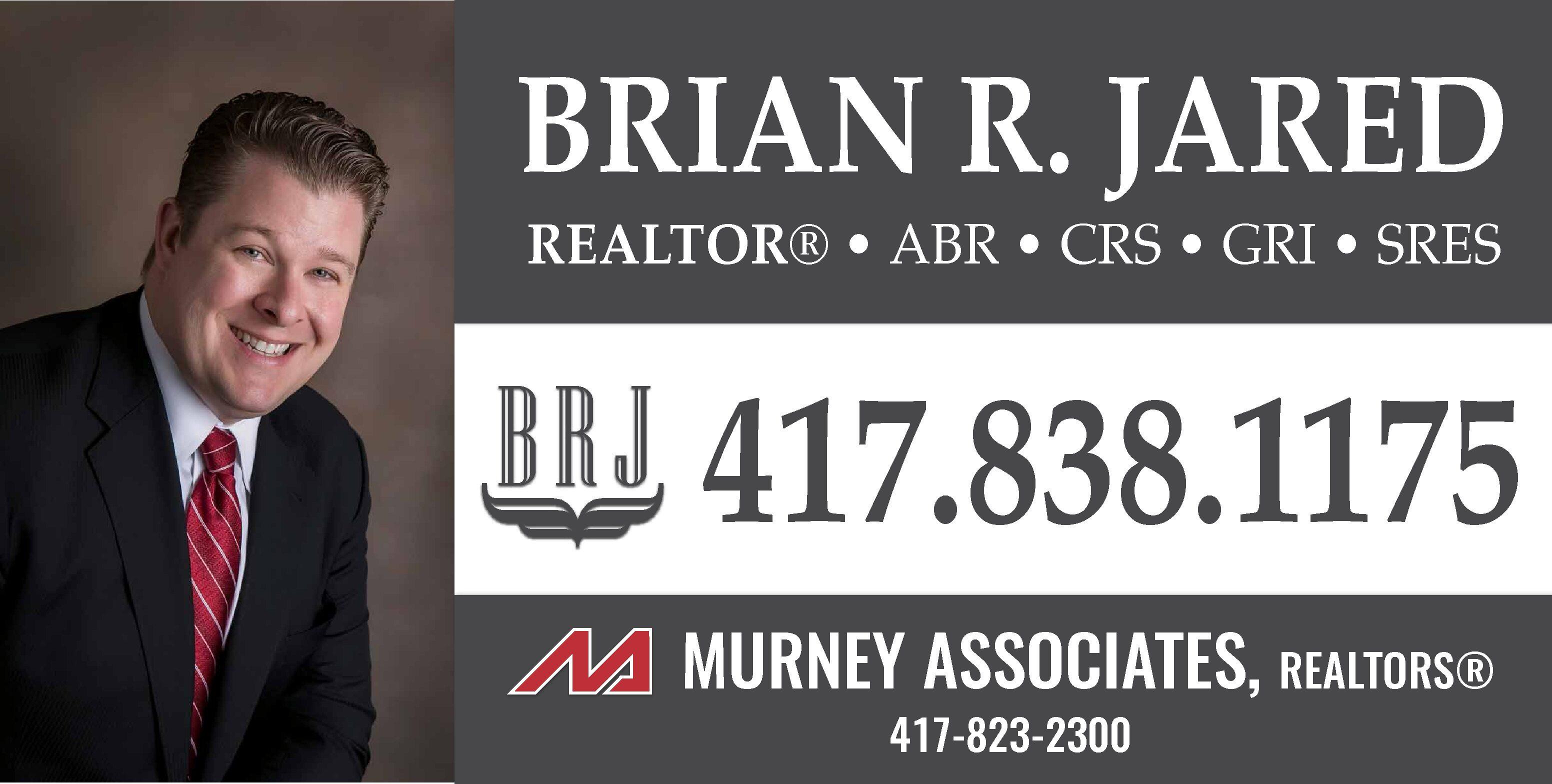 Brian R Jared, Jared Real Estate LLC