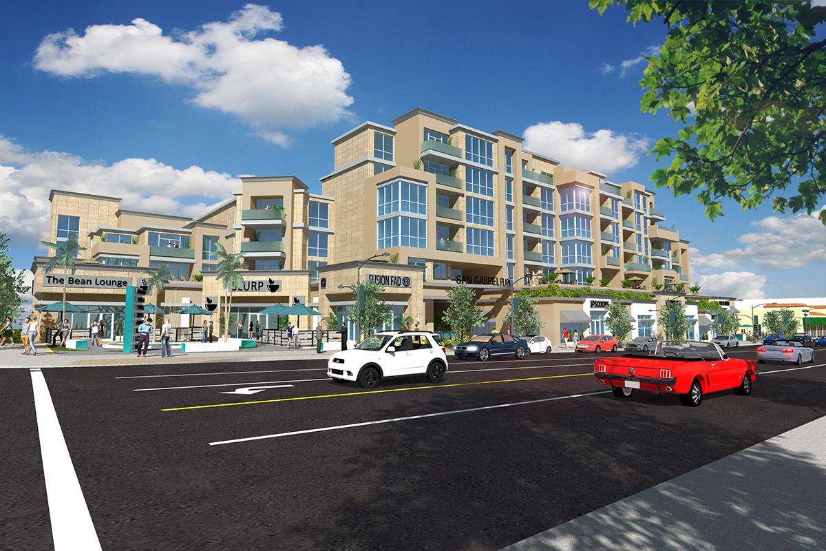 San Gabriel Plaza Mixed-Use Condos & Retail Set to Rise