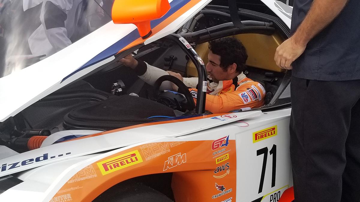 Kollin Altomare Designer Racing in Acura Grand Prix of Long Beach