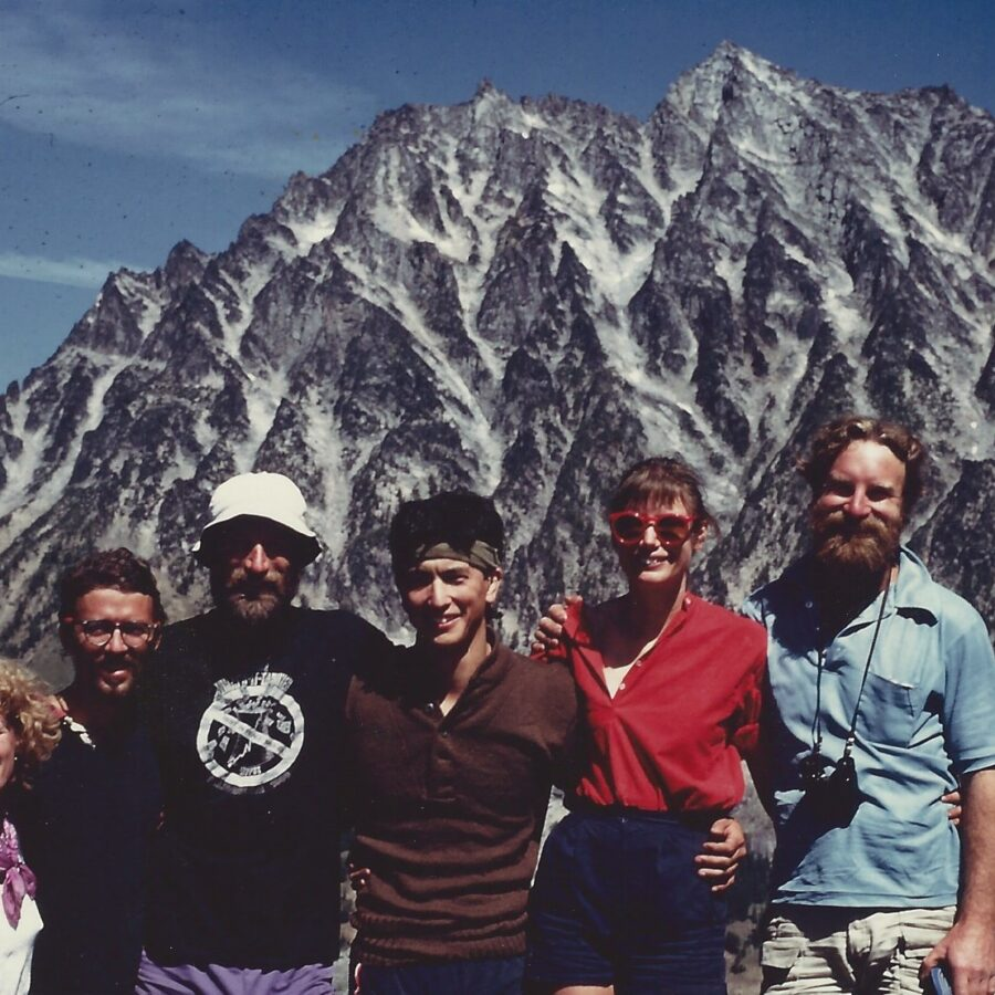 Mt. Stewart with Becky Frehse and others