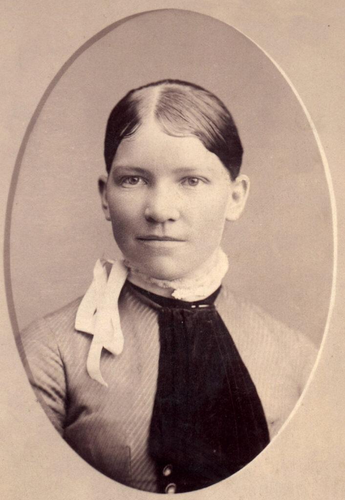 c. 1890 Harriet (Hattie) Cazier Call (1870-1894)