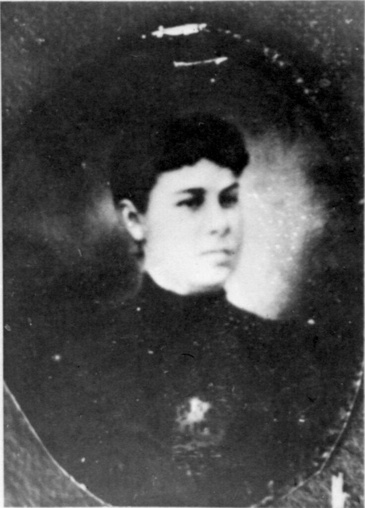 c. 1898 Dora Pratt Call (1878-1904)