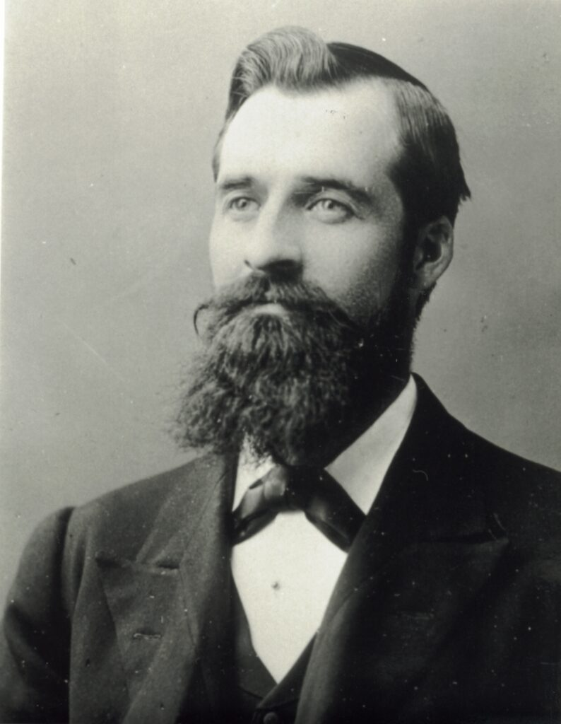 1896 Anson Bowen on mission to England