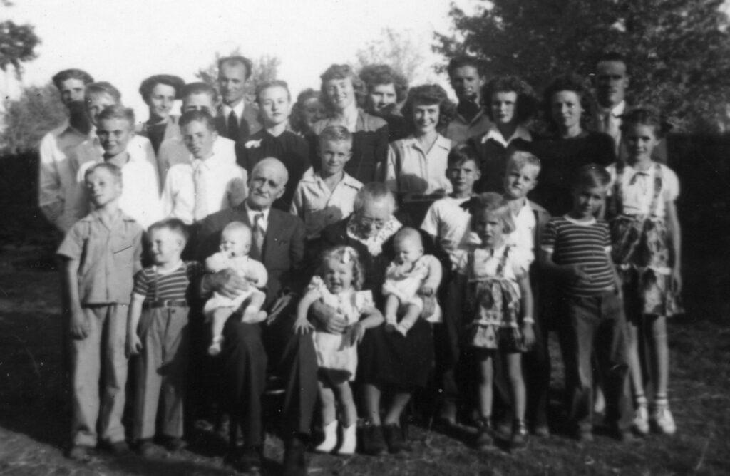 1945 11-4 Anson & Theresa 60th wedding