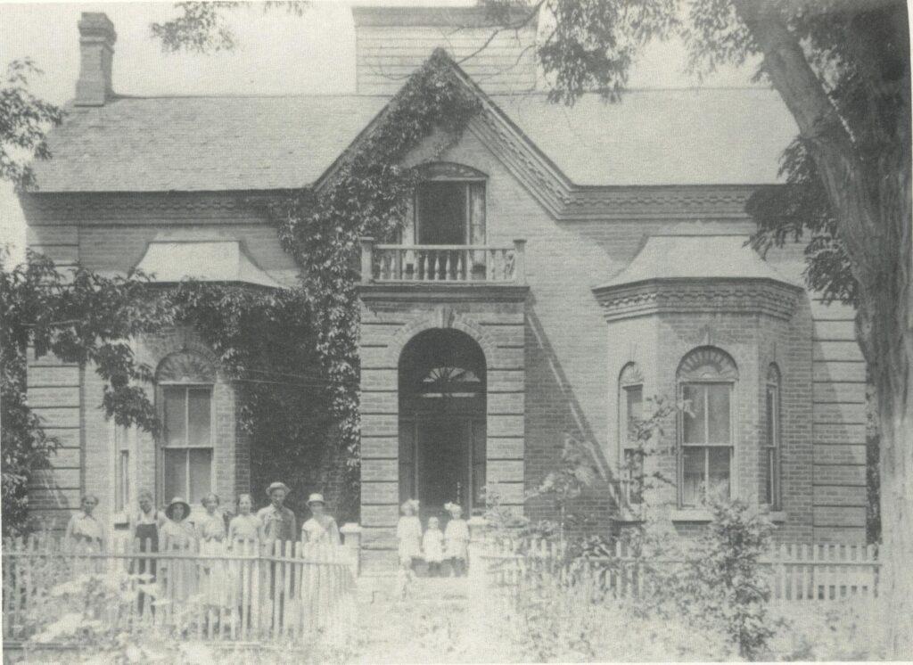 c. 1900 Anson Call home in Bountiful