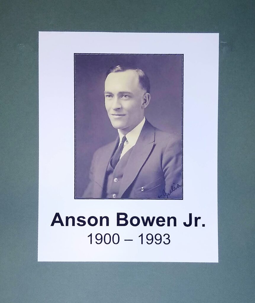 Anson Bowen Jr.