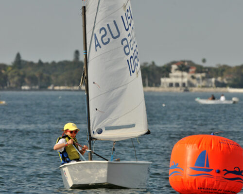 Kids sailing photography