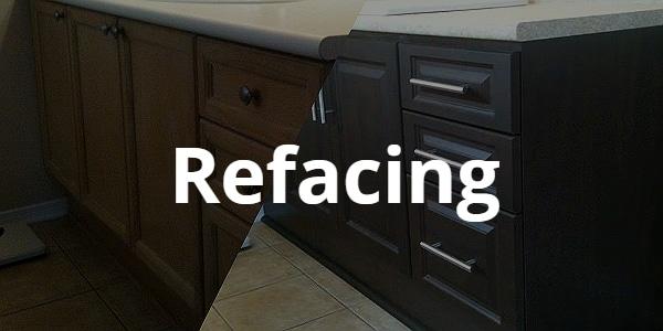 Refacing to modernize Kitchen