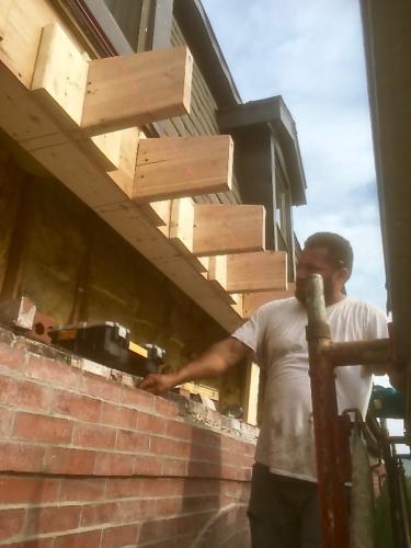 Soffit/Mansard Rebuild - Boston, MA