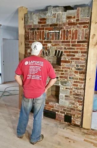 Fireplace Build -  Danvers, MA
