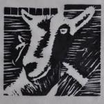 Goat, Woodcut