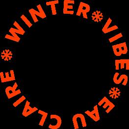 Winter Vibes Eau Claire Badge