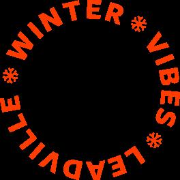 Winter Vibes Leadville Badge