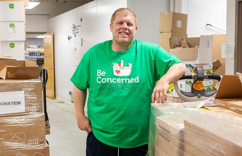 Josh Stone, Warehouse Director