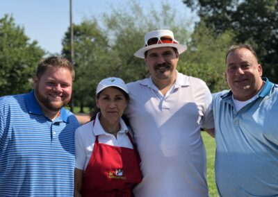 Hiltibrands at the Golf Outing