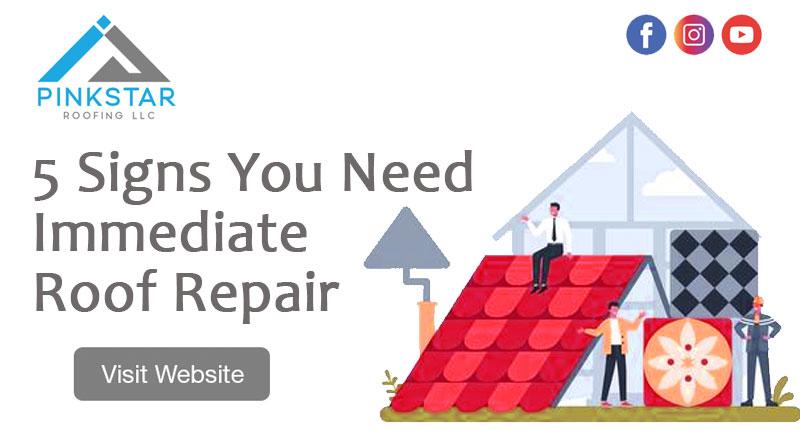 5 Signs You Need Immediate Roof Repair