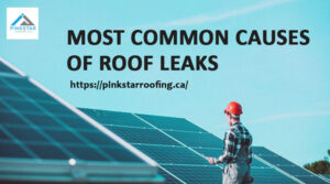5 Most Common Causes of Roof Leaks
