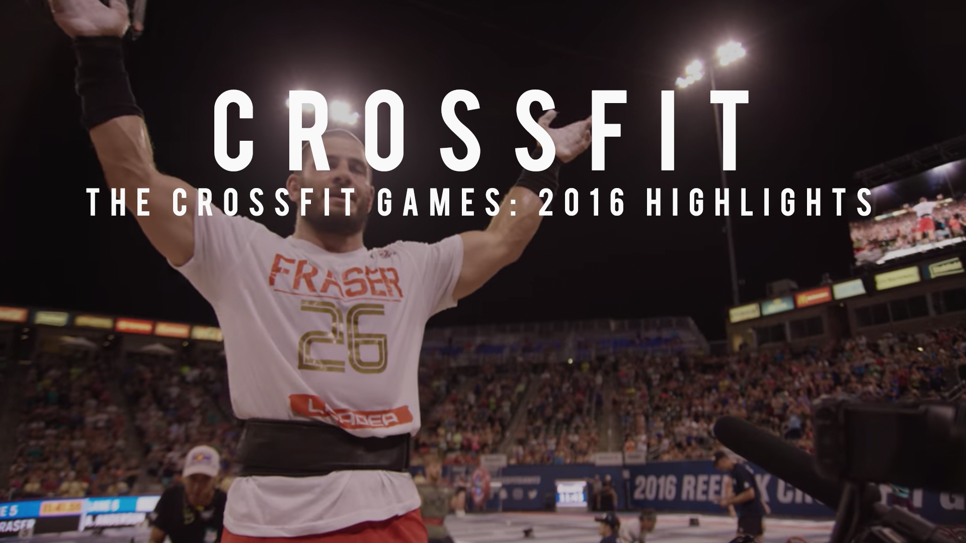The CrossFit Games: 2016 Highlights Michael McCoy Videography