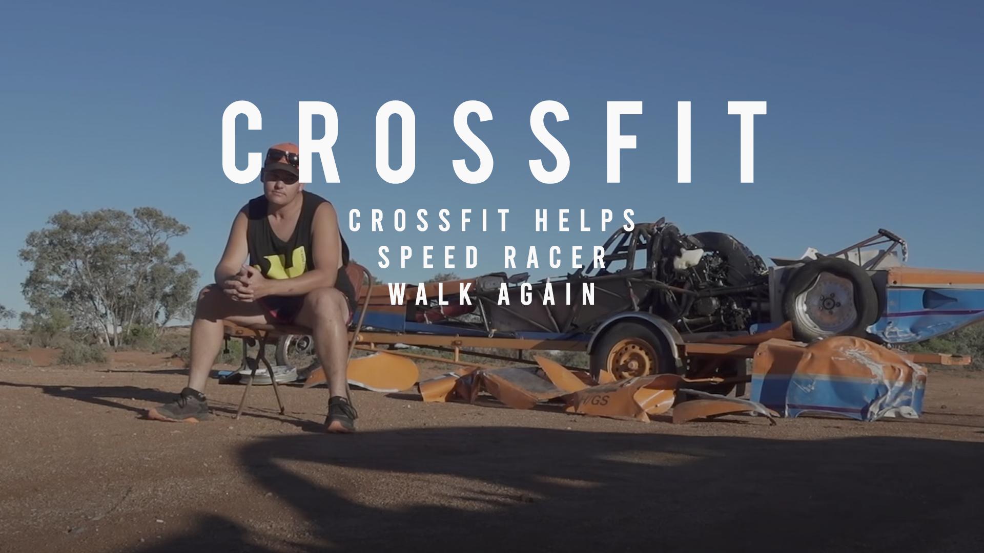 CrossFit Helps Speed Racer Walk Again Michael McCoy Videography