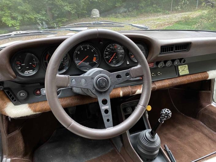 Custom Built 1981 Porsche 911 SC with Grand Prix White exterior and Cow Interior