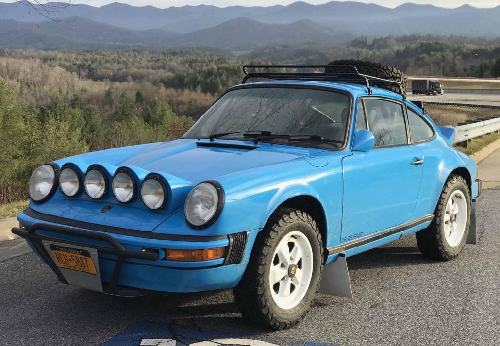 Custom Built 1980 Porsche 911 SC in Riviera Blue