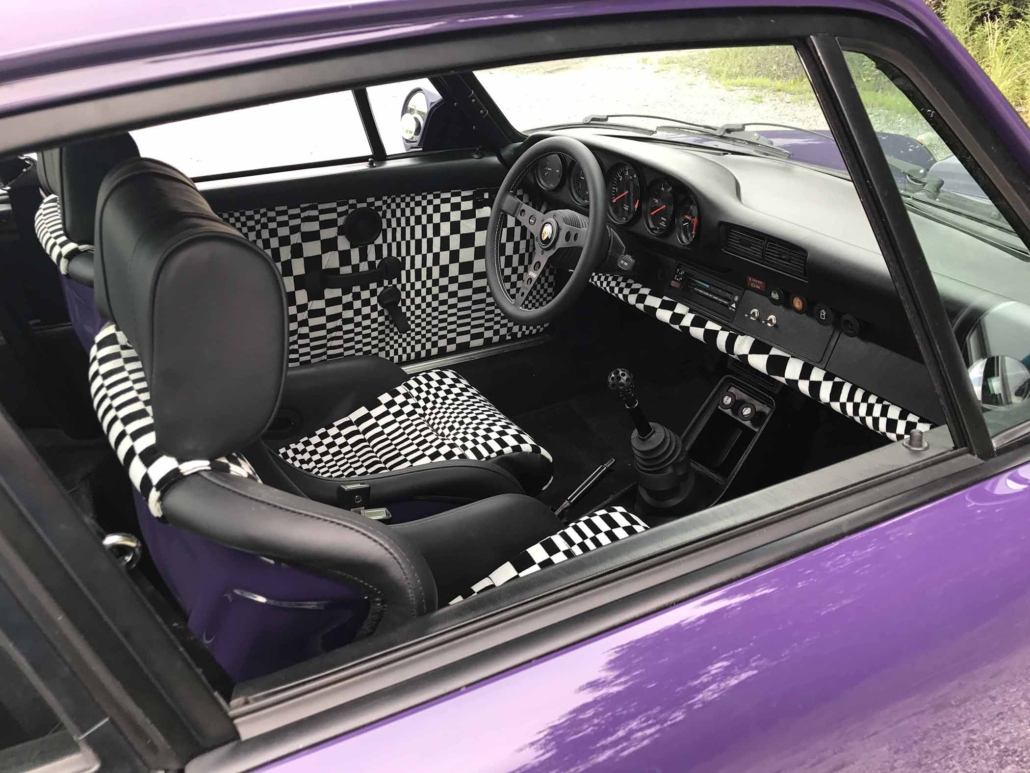 custom Pascha Interior on a 1978 Porsche 911 SC