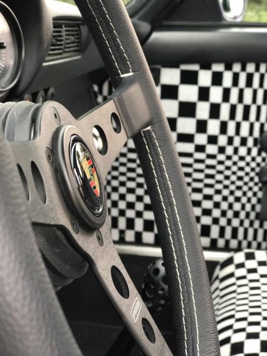 custom Pascha Interior on a 1978 Porsche 911 SC
