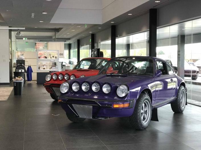Custom Built 1978 Porsche 911 SC with Lilac exterior and Pascha interior