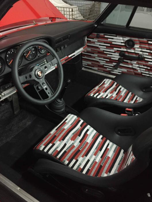 Custom Built 1981 with Carrera Fabric interior