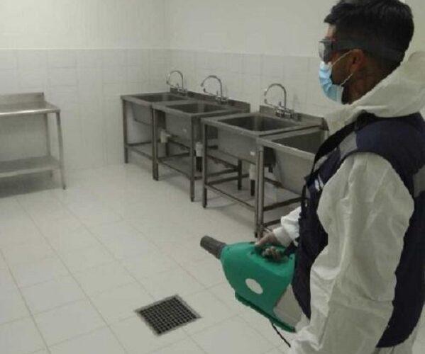 Ejecutan mejoras en la Central de Alimentación del hospital Claudio Vicuña