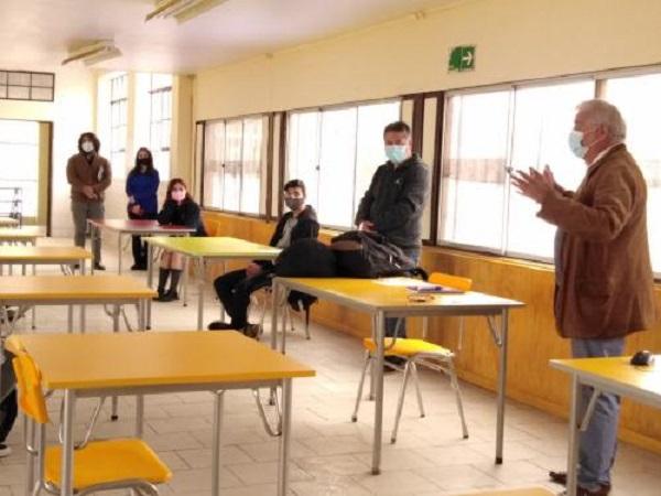 Colegios de Cartagena volvieron a clases presenciales