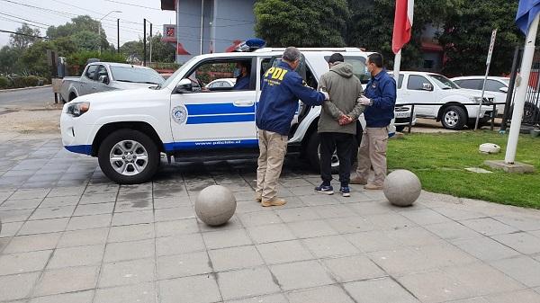 PDI San Antonio captura a último integrante de banda dedicada al robo de locales comerciales