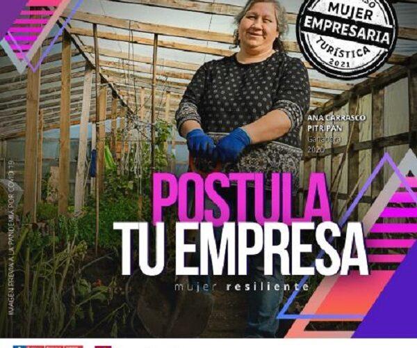 Concurso Mujer Empresaria Turística 2021 busca impulsar  el liderazgo femenino en la Región