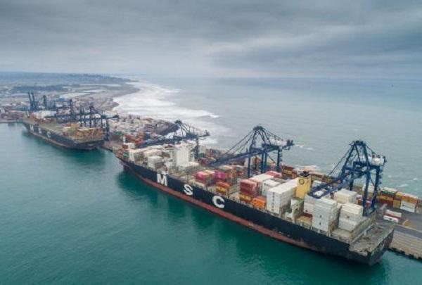Puerto San Antonio logra récord histórico en transferencia de carga contenerizada