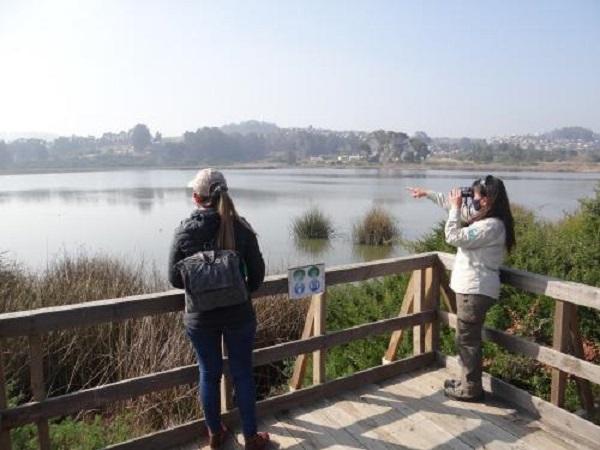 Santuario Laguna El Peral celebra 46 años con el 90 % de su infraestructura apta para el turismo inclusivo