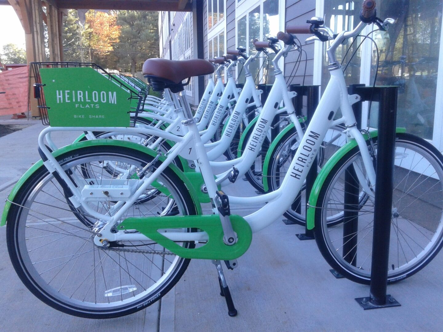 Bike Share at Resort