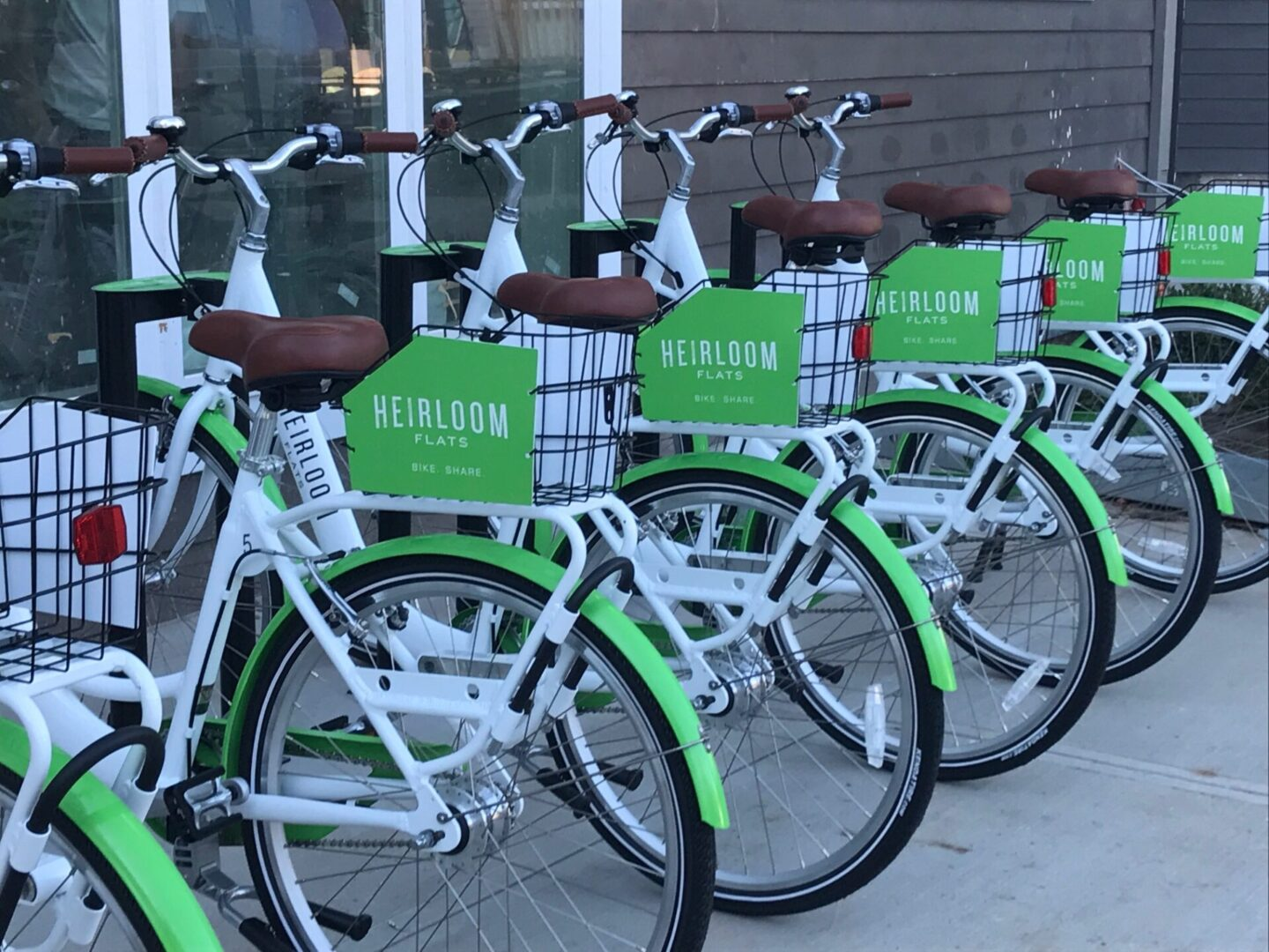 On Bike Share system - bikes at station