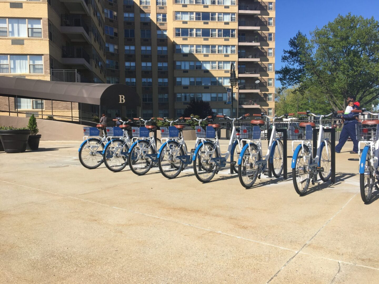Bike Share system at apartment community