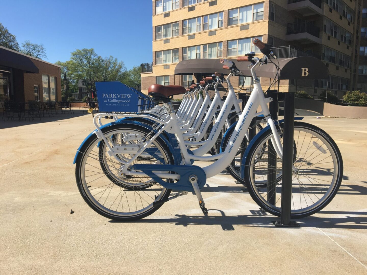Parkview-branded bicycles