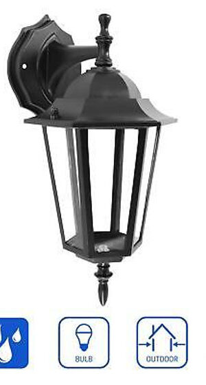 InHome Outdoor Wall Down Lantern