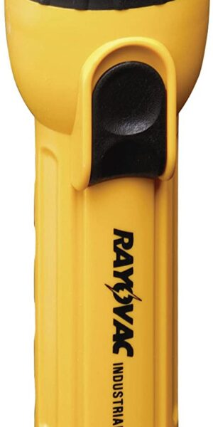 Ray-o-vac Industrial Flashlight Yellow/Black Polypropylene AA – IN4